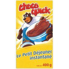Chocoquick le petit déjeuner boisson chocolatée instantanée 400g