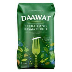 DAAWAT Riz basmati grain extra long 1kg