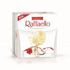 RAFFAELLO Bâtonnets glacés noix de coco et amandes x4 4 pièces 226g