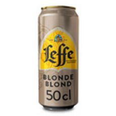 LEFFE Bière blonde 6,6% boîte 50cl
