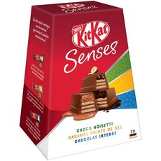 KIT KAT Senses mini barres chocolatées 20 barres 200g
