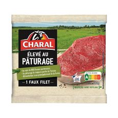 CHARAL Faux Filet élevé au pâturage  1 pièces  200g