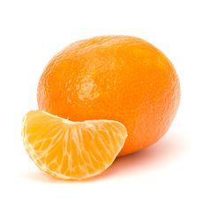 Mandarine pièce