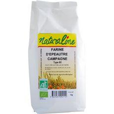 NATURALINE Farine d'épeautre campagne type 80 bio 1kg