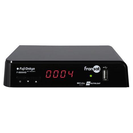 FUJIONKYO Terminal de réception TNT par satellite - F8800 HD