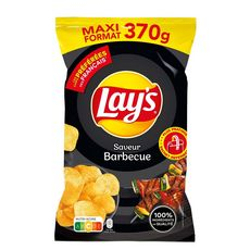 Lay's LAY'S Chips saveur barbecue maxi format