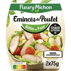 Fleury Michon FLEURY MICHON Emincés de poulet rôti sans conservateur
