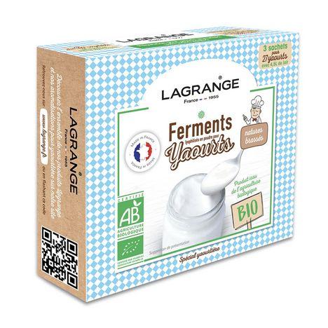 LAGRANGE Ferments pour yaourt