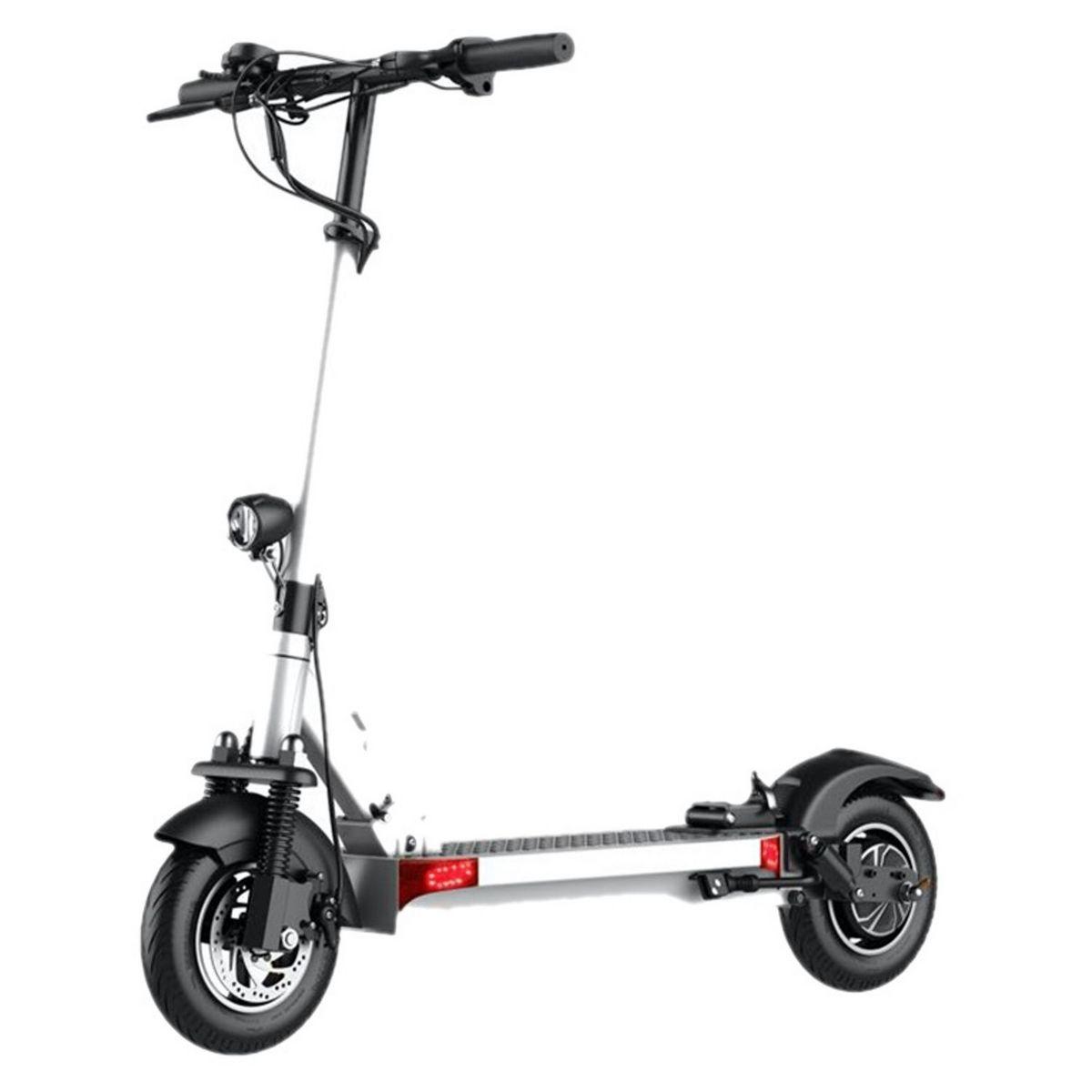 Trottinette électrique E.Scooter Sit'n Go - Blanc