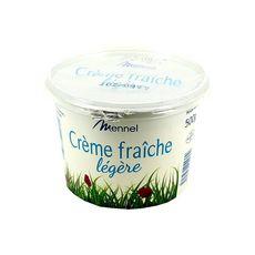 MENNEL Crème fraîche légère épaisse 500g