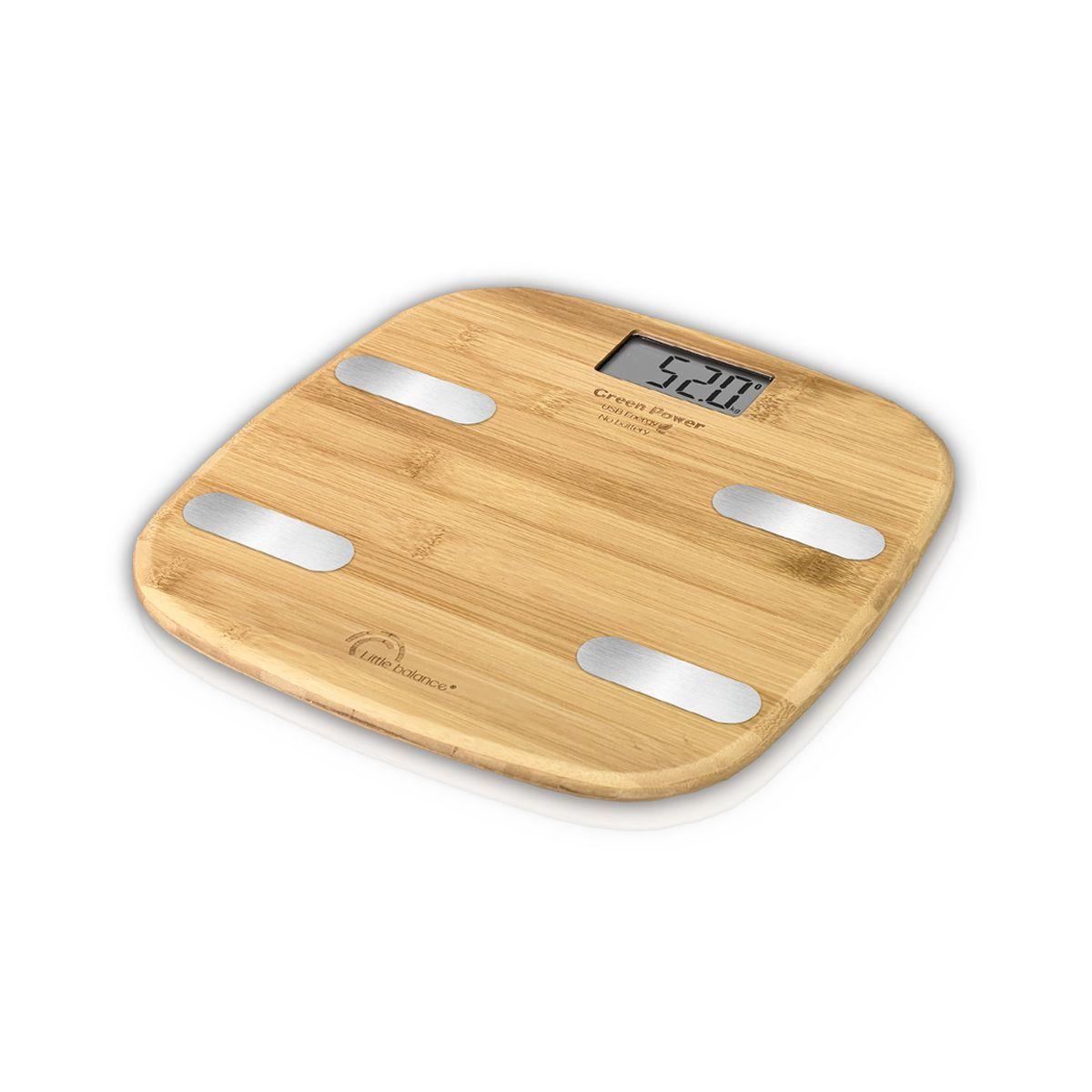 Pèse personne impédancemètre 8359 - Bambou