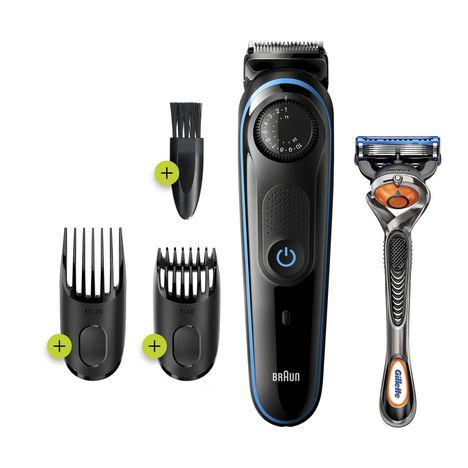 BRAUN Tondeuse à barbe BT3240 - Noir