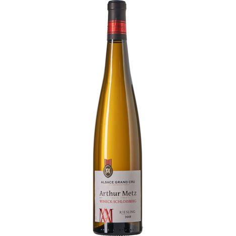 SANS MARQUE AOP Alsace Riesling grand cru Arthur Metz blanc 2018