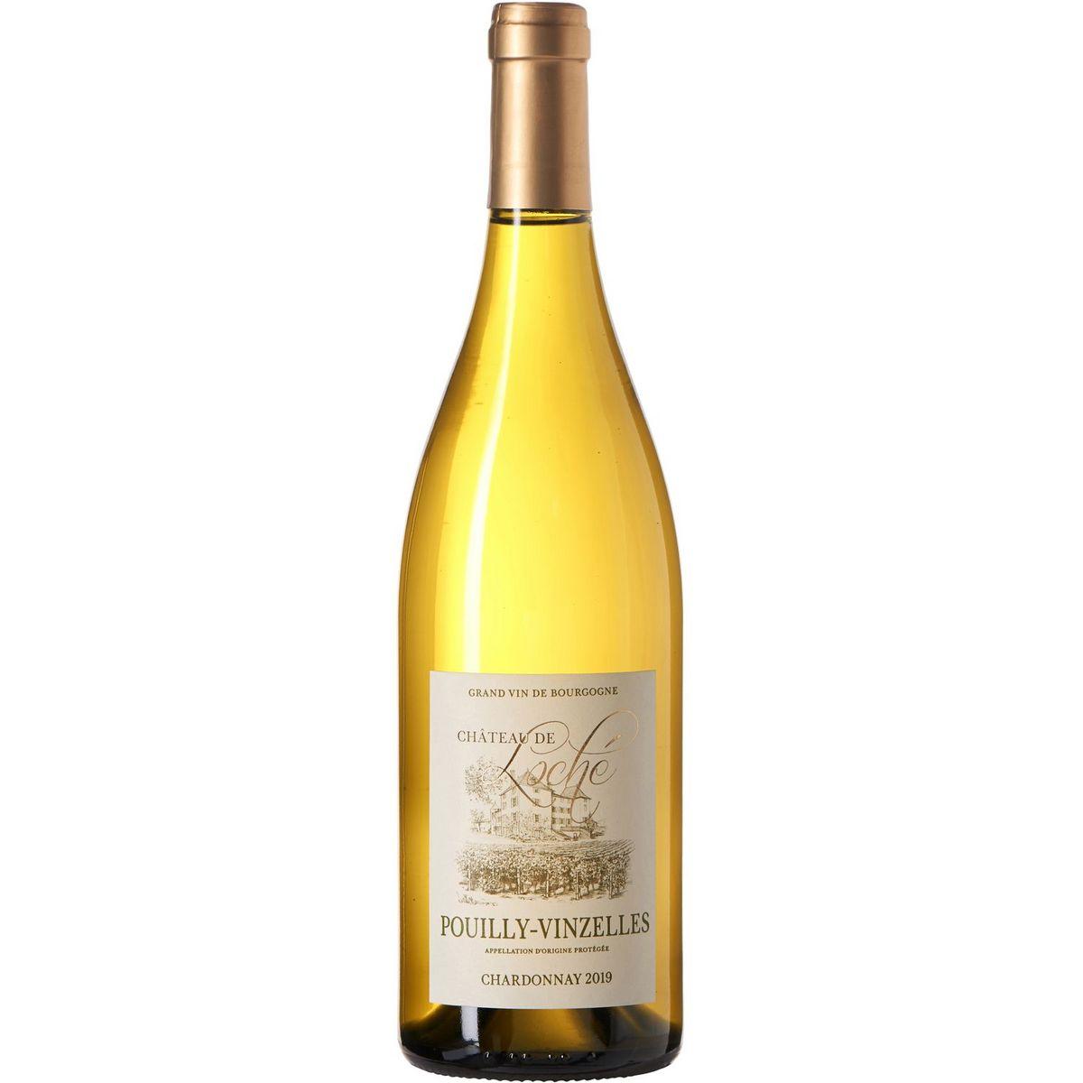 AOP Pouilly-Vinzelles Château de Loché Chardonnay blanc 2019