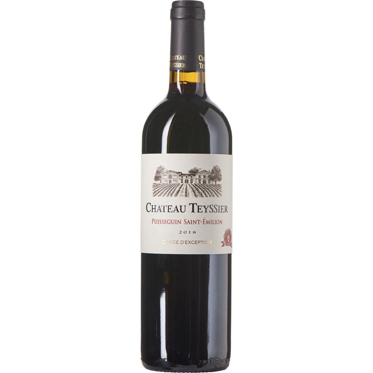 AOP Puisseguin Saint-Émilion Château Teyssier cuvée d'Exception 2018 rouge