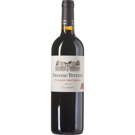 SANS MARQUE AOP Saint Emilion Puisseguin Château Teyssier cuvée d'Exception rouge 2018