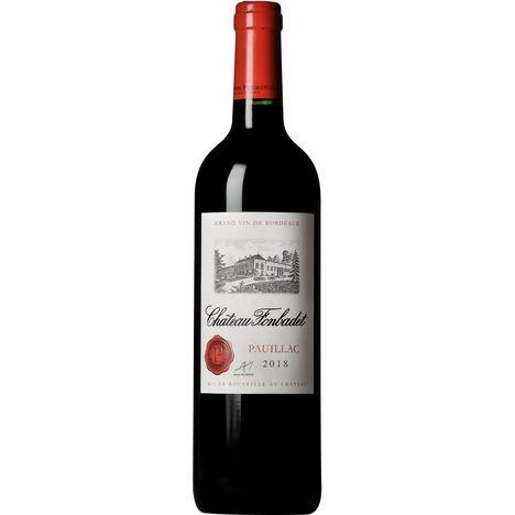 SANS MARQUE AOP Pauillac Château Fonbadet rouge 2018