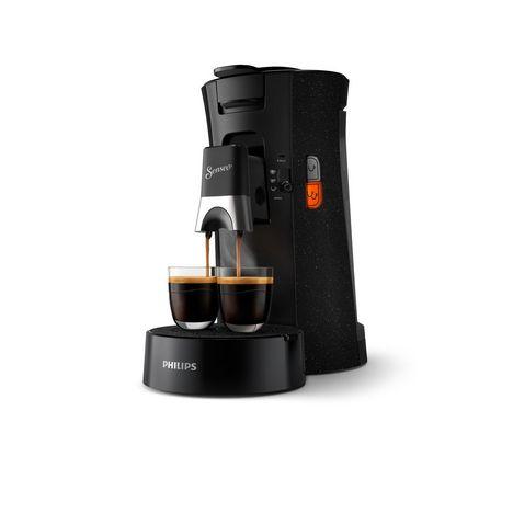 PHILIPS Cafetière à dosette Senseo CSA240 - Noir