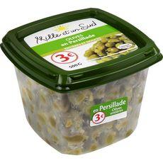 MILLE ET UN SUD Olives en persillade entières et douces    500g