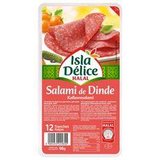 ISLA DELICE Salami de dinde  96g 12 tranches