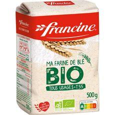 FRANCINE Farine de blé bio 500g