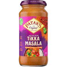 PATAK'S Sauce tikka masala à la tomate, au citron et à la coriandre - moyen 2 à 3 personnes 350g
