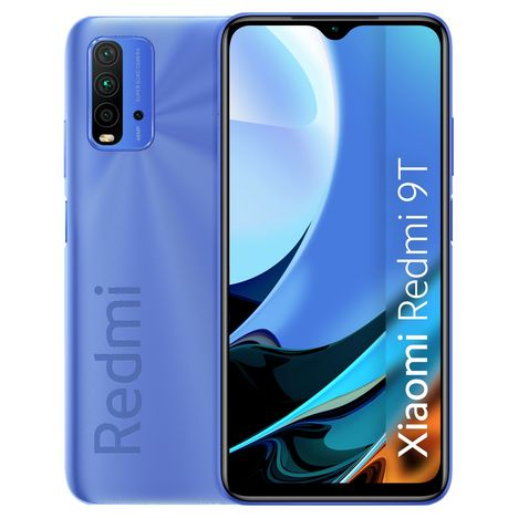 XIAOMI Smartphone Redmi 9T  64 Go  6.53 pouces  Bleu  4G Double port SIM