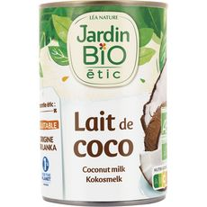 JARDIN BIO ETIC Lait de coco 400ml