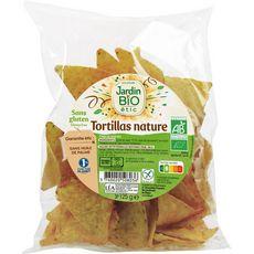 JARDIN BIO ETIC Tortillas chips nature sans gluten 125g