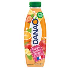 DANAO Boisson au jus d'orange banane fraise et lait 90cl