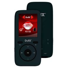 D-JIX Lecteur MP3 - MP4 - M439 WOM FR - Noir