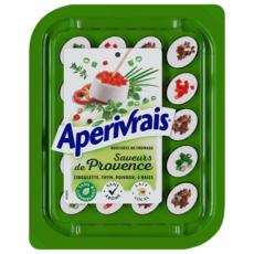 Apérivrais APERIVRAIS Bouchées de fromage frais aux saveurs Provençales
