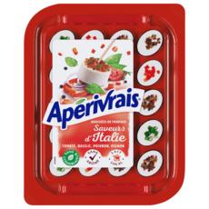 APERIVRAIS Bouchées de fromage frais aux saveurs d'Italie 100g