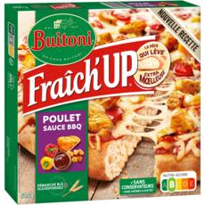 BUITONI Pizza fraîch'up poulet barbecue 600g