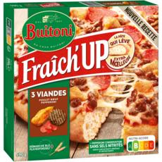 BUITONI Pizza fraîch'up suprême viande 590g