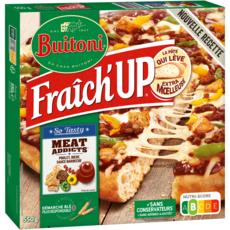 BUITONI Pizza pâte épaisse à la viande sauce barbecue 550g