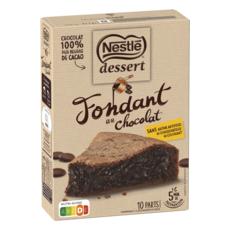 NESTLE Préparation pour fondant au chocolat 317g