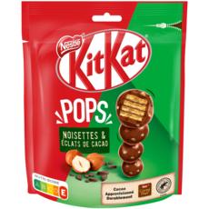 KIT KAT Pops billes noisettes et éclats de cacao enrobées chocolat 200g