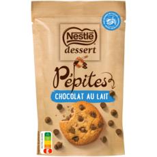 NESTLE DESSERT Pépites de chocolat au lait pâtissier 100g