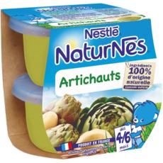 NESTLE Naturnes bol aux artichauts dès 4 mois 2x130g