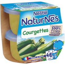NESTLE Naturnes bol aux courgettes dès 4 mois 2x130g