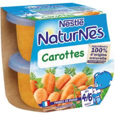 NESTLE Naturnes bol aux carottes dès 4 mois 2x130g