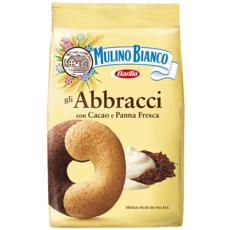 Mulino Bianco MULINO BIANCO Abbracci biscuits au chocolat et à la crème