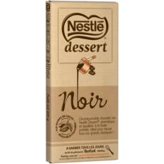NESTLE DESSERT Tablette de chocolat noir pâtissier 1 pièce 205g