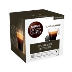 Nescafé DOLCE GUSTO Capsules de café Espresso Intenso compatibles Dolce Gusto