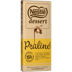 NESTLE DESSERT Tablette de chocolat praliné pâtissier 1 pièce 170g