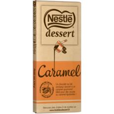 NESTLE DESSERT Tablette de chocolat au caramel pâtissier 1 pièce 170g