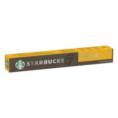 STARBUCKS Caspules de café blonde espresso roast compatibles Nespresso 10 capsules 53g