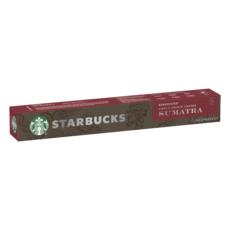 STARBUCKS Caspules de café arabica de Sumatra compatibles Nespresso 10 capsules 57g