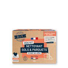 L'ATELIER DU D.I.Y Mon Kit Nettoyant sols et parquets à faire soi même Pour 1l